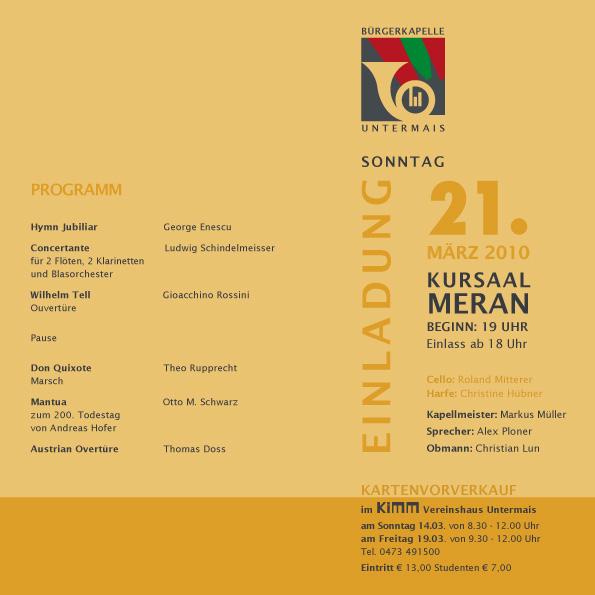 Josefi Konzert 2010