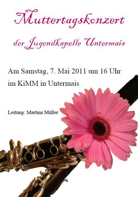 Muttertagskonzert 2011