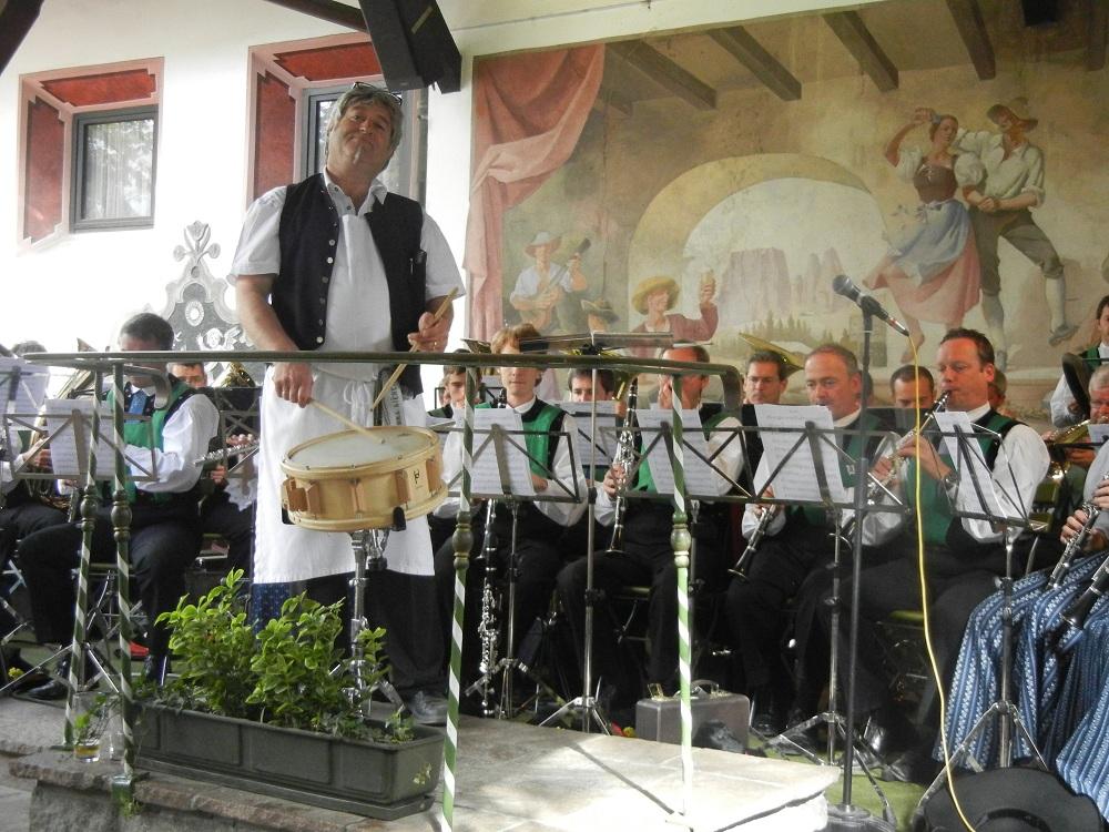 Abschlussfest im Braugarten 2012