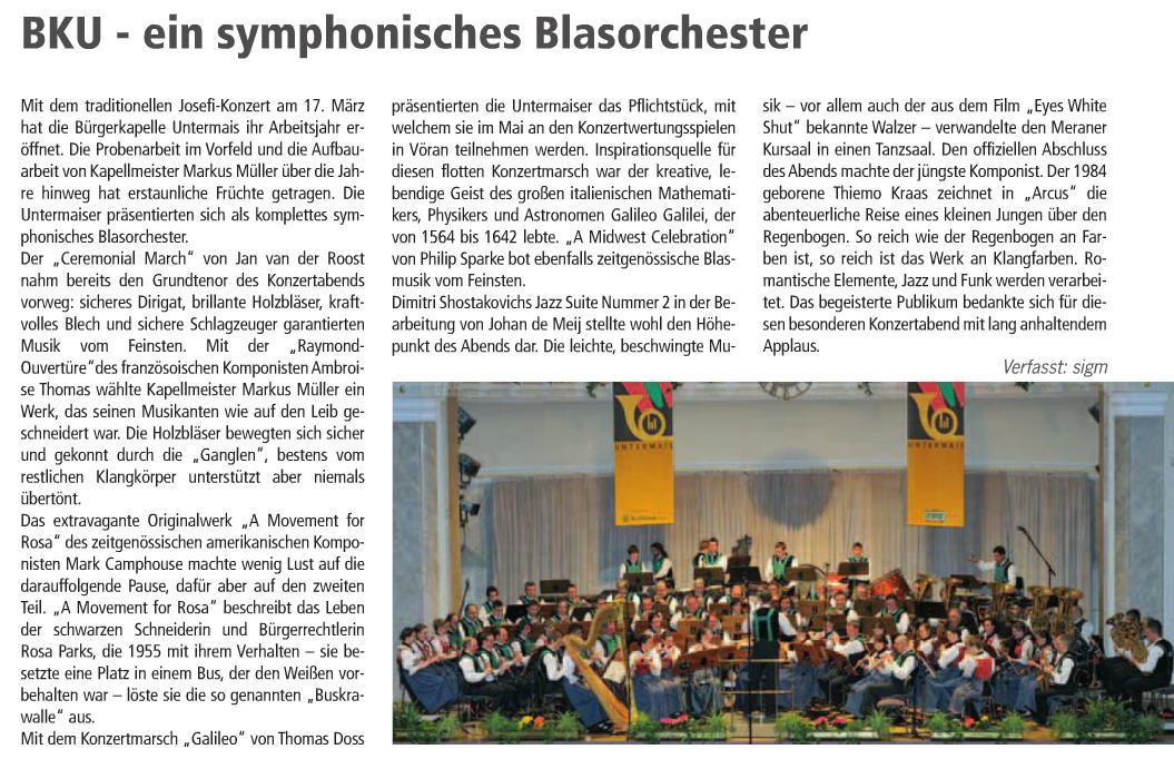 Maiser Wochenblatt - Ausgabe 09/2013